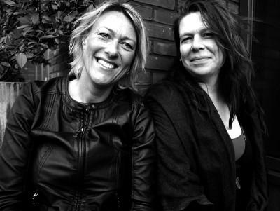 Saskia Buma en Jette Bolle van Mama Vita